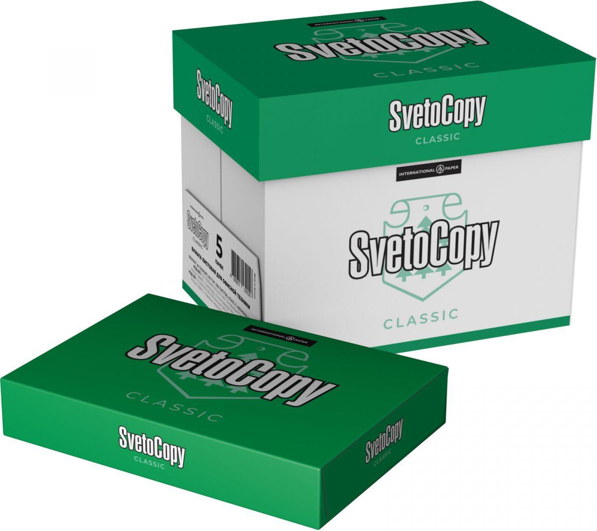 Книжный мир_uz SvetoCopy Бумага для принтера SvetoCopy, формат А4